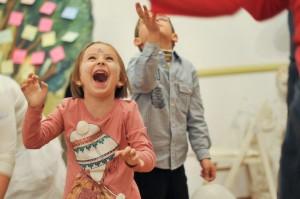 Bucurie de copii